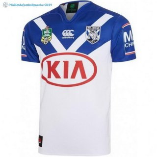 Maillot Rugby Bankstown Bulldogs Domicile 2017 2018 Blanc