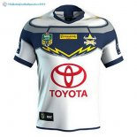 Maillot Rugby Cowboys Exterieur 2018 Blanc