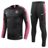 Survetement Paris Saint Germain 2018 2019 Noir Rose Marine