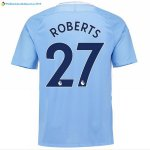 Maillot Manchester City Domicile Roberts 2017 2018