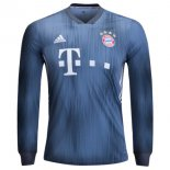 Maillot Bayern Munich Third ML 2018 2019 Gris Bleu