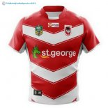 Maillot Rugby St.George Illawarra Dragons Exterieur 2018 Rouge