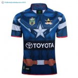Maillot Rugby Cowboys Bleu 2017 2018