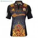 Maillot Rugby Chiefs Domicile 2017 2018 Noir