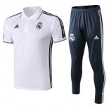 Polo Ensemble Complet Real Madrid 2019 2020 Blanc