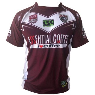 Maillot Burleigh Bears Domicile 202018 2019 Rouge