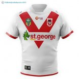 Maillot Rugby St.George Illawarra Dragons Domicile 2018 Blanc
